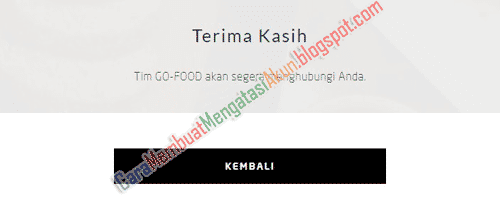 daftar go food online