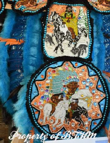 NOLA Jazz Fest 2015  mardi gras indian 4