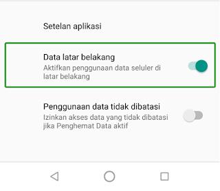 pesan whatsapp tidak bisa masuk jika tidak dibuka