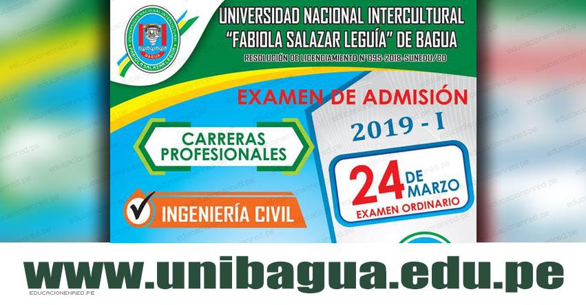 Resultados UNIBAGUA 2019-1 (Domingo 24 Marzo) Lista de Ingresantes - Examen de Admisión Ordinario UNIFSL-B - Universidad Intercultural «Fabiola Salazar Leguía» de Bagua - www.unibagua.edu.pe