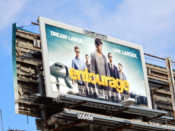 Entourage film billboard
