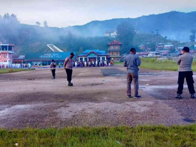 Polres Paniai Amankan Shalat Ied di Enarotali, Tigi dan Sugapa