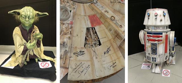 Modele ze Star Wars konwent