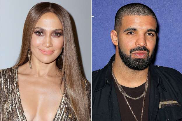 Jennifer Lopez Spends New Year's Eve with Drake at His Las Vegas Show