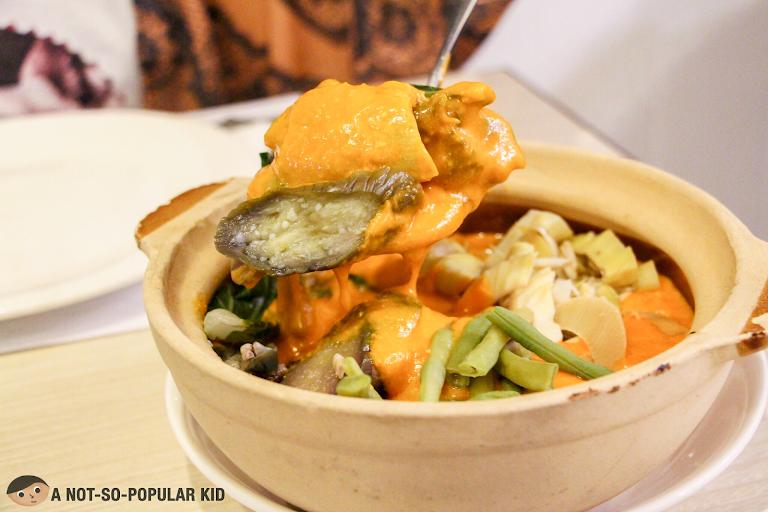 Beef Kare-Kare of Limbaga 77 Restaurant