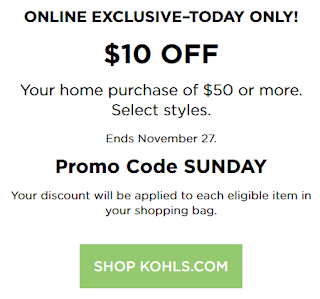 baby today only extra select items dollar kohls