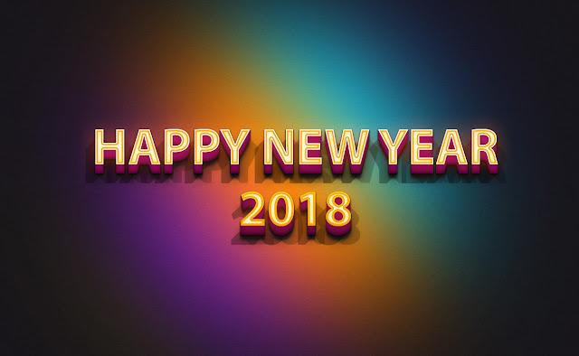Happy New Year 2018 HD Photos