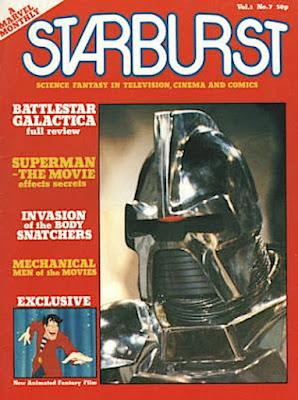 Starburst Magazine #7, the Cylons
