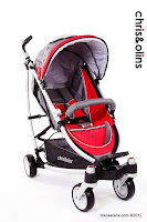 Chris and Olins Triangle LightWeight Baby Stroller