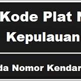 Kode Plat Nomor Kendaraan Kepulauan Sula