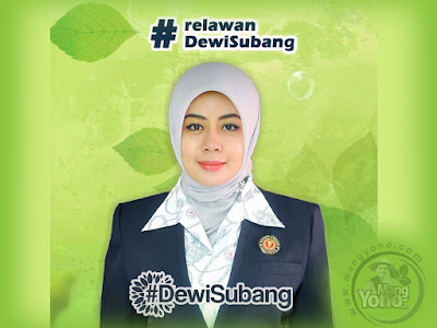Biodata dan Profil Dewi Nirmalasari (Dewi Subang) DP2KBP3A Kab. Subang