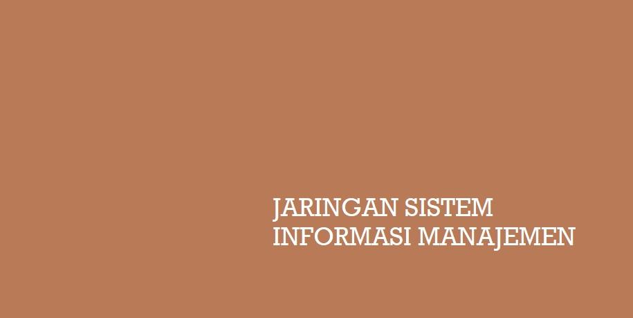 Jaringan Sistem Informasi Manajemen Dalam Ilmu Marketing