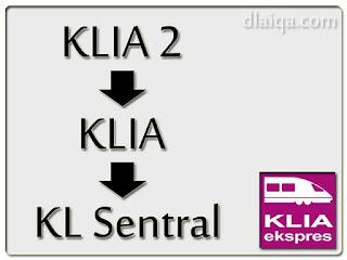 KLIA2 - KLIA - KL Sentral
