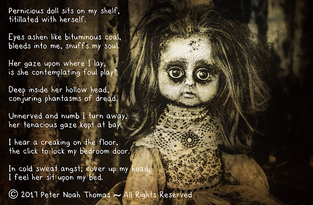 A spooky poem about a frightening Dolly Tingle