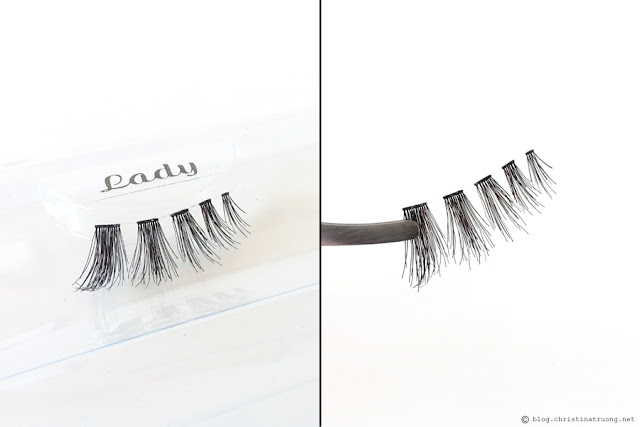 SocialEyes - Let Your Eyes Do The Talking. SocialEyes Lady Lashes Review for Monolids.