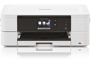 work inkjet printer amongst modified duplex printing as well as Wi Brother DCP-J774DW Drivers Download