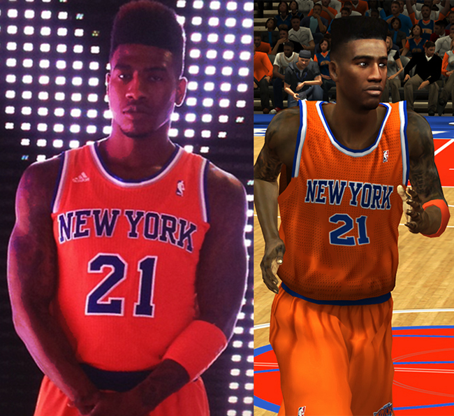 quality design 1dc2e ddaa8 NBA 2K13 New York Knicks All Jerseys Patch - NBA2K.ORG