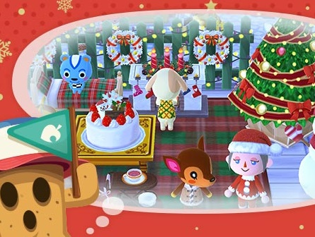 The 24 games of christmas game 18 animal crossing for Animals decoration games