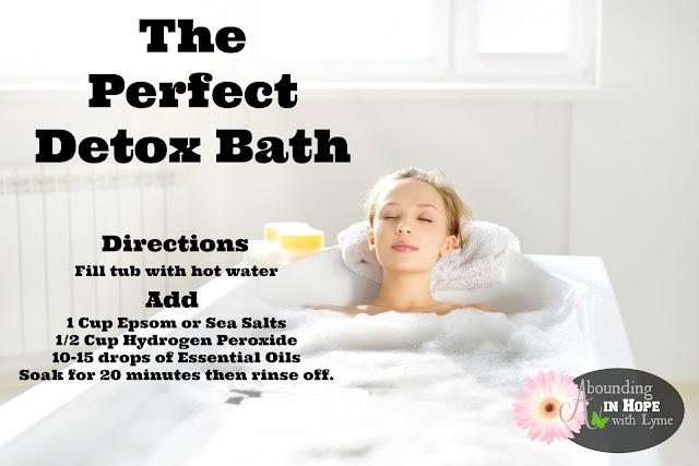 Detox Bath Recipe, Detox, Essential Oils