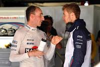 Robert Kubica Sergey Sirotkin F1 Williams