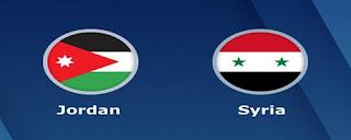 موعد مباراة الاردن وسوريا ضمن كأس آسيا 2019 والقنوات الناقلة