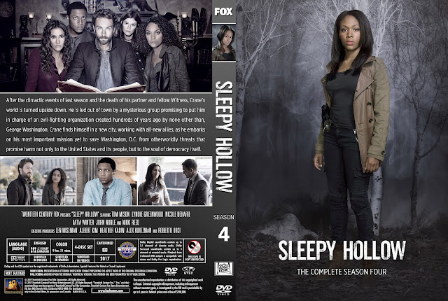 Sleepy Hollow Season 4 DVD Cover