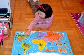 mapa magenitco la vuelta al mundo el regalo perfecto para niños viajeros