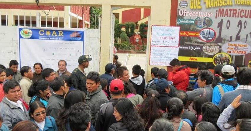 Más de 800 estudiantes rindieron examen para ingresar al Colegio de Alto Rendimiento - COAR Áncash