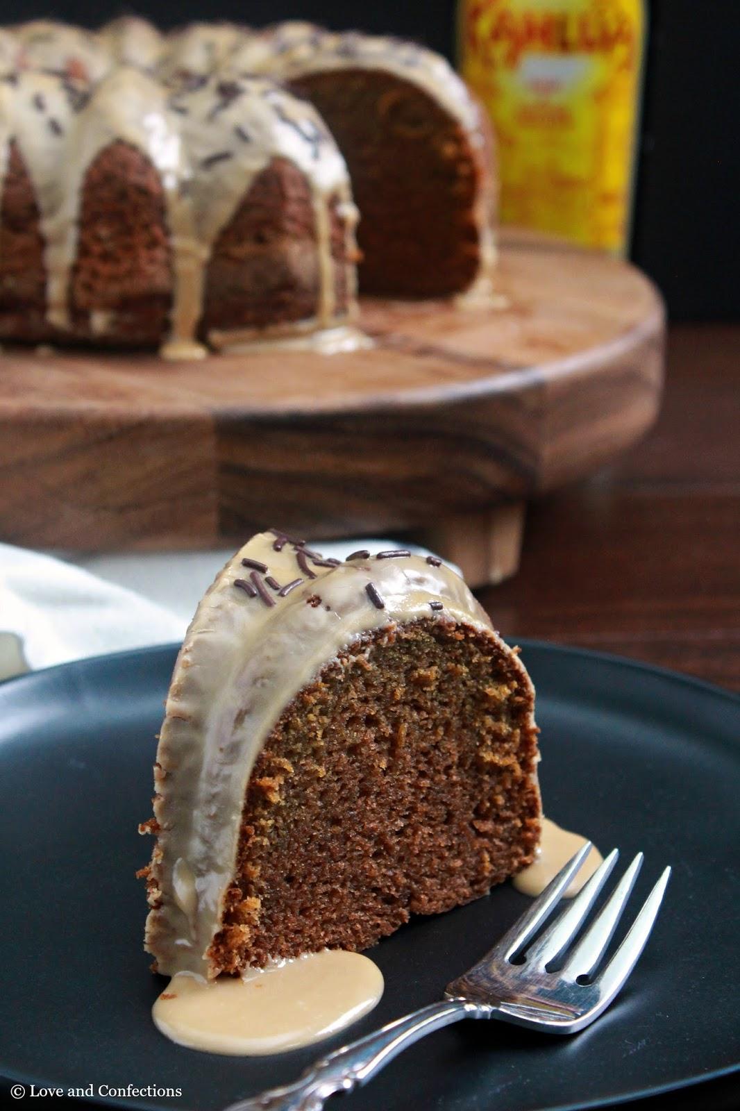 Kahlua Bundt Cake From Scratch