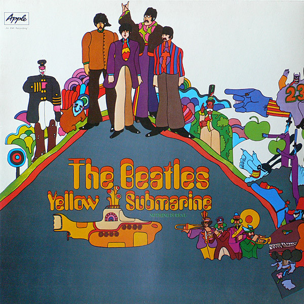 The Beatles Yellow Submarine Guitar Chords Kunci Gitar