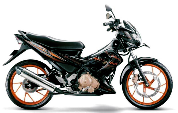 2012 Suzuki Satria Fu Limited Edition Motorcycle