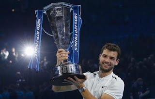 Spotlight : Dimitrov Beats Goffin To Win ATP Finals
