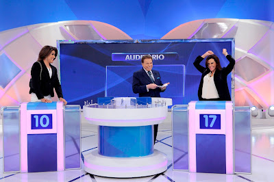 Tiago, Silvio e Narcisa (Crédito: Lourival Ribeiro/SBT)