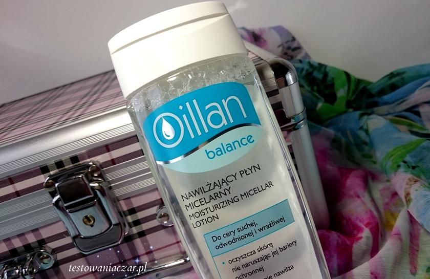 Nawilżający płyn micelarny Oillan balance