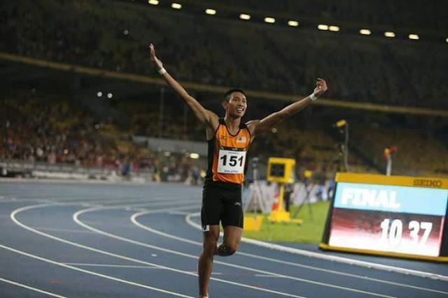 Acara Olahraga 200m Lelaki : Speedy Jantan Hanya Tempat Ke-4, Thevarr Gunasegaran Miliki Gangsa!