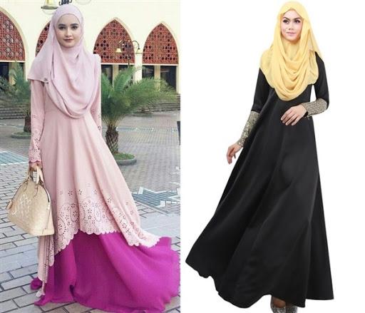Model Baju Muslim Syar'i Terbaru 2017/2018