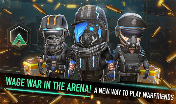 Download WarFriends Mod Apk Unlimited Ammo