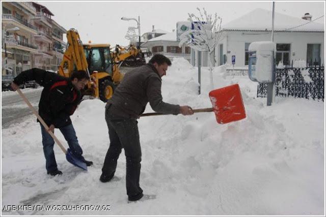 Στους -21 βαθμούς η θερμοκρασία στο Νευροκόπι