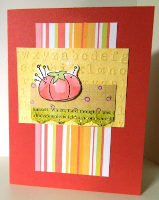 Pin Cushion card