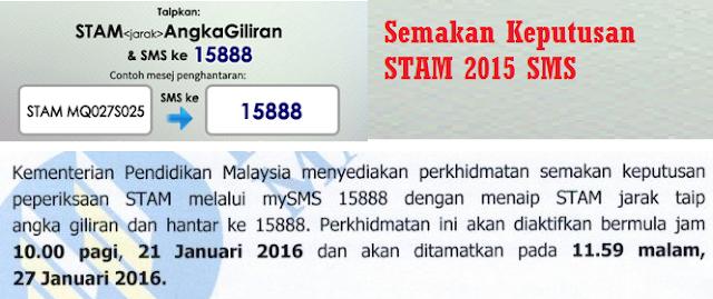 keputusan stam 2015