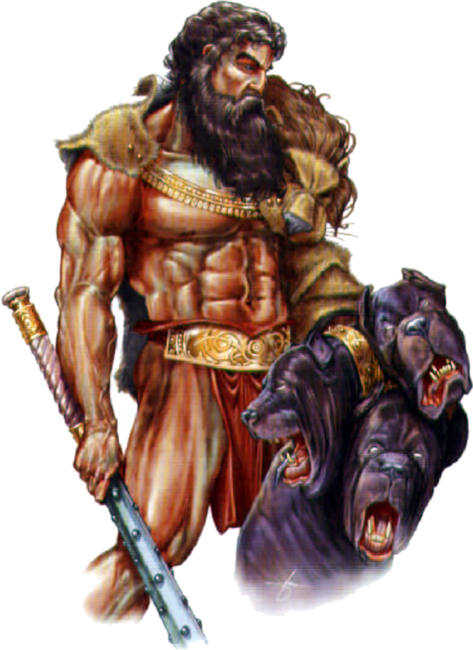The heroic acts of hercules the son of zeus