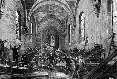 L'Attaque de la Chapelle du Bois-du-Verne (source Mère en Gueule)
