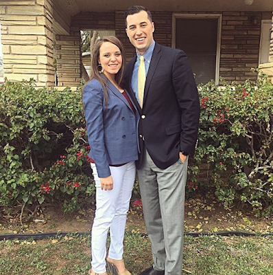 Jinger and Jeremy Vuolo at church