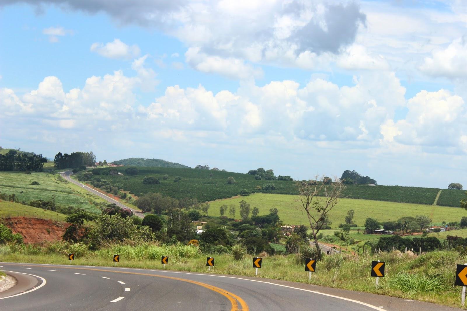 estrada placas de curva
