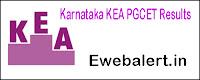 Karnataka KEA PGCET Results