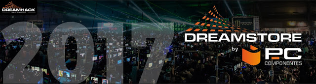 Mejores ofertas de PCComponentes por el Dreamhack VLC 2017