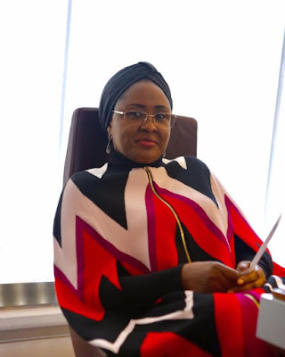 Aisha Buhari arrives in Belgium, to deliver speech on 'Women's Role in Global Security'