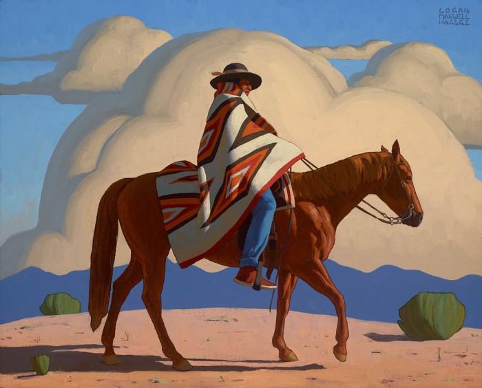 Американский художник. Logan Maxwell Hagege