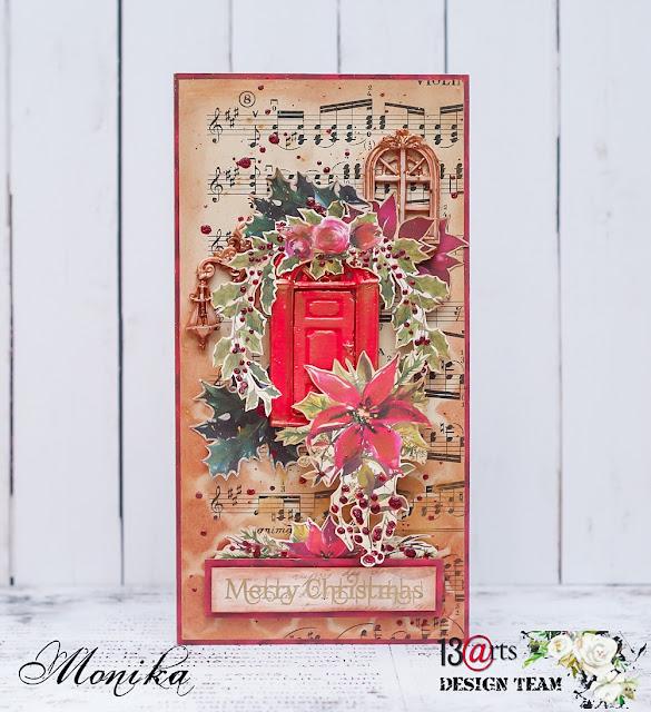 Świąteczne kartki dla 13arts/ Christmas cards for 13arts