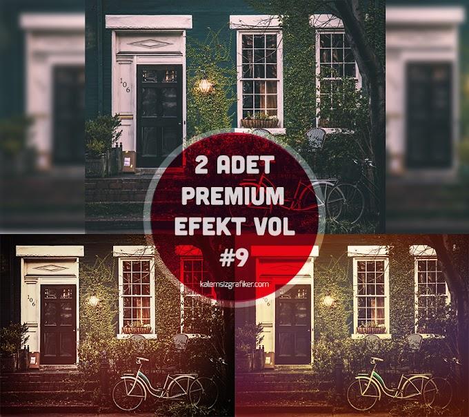 2 Adet Premium Efekt Actions Vol 9